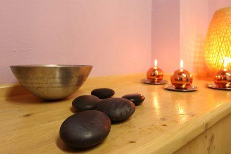 Pietre calde per massaggio