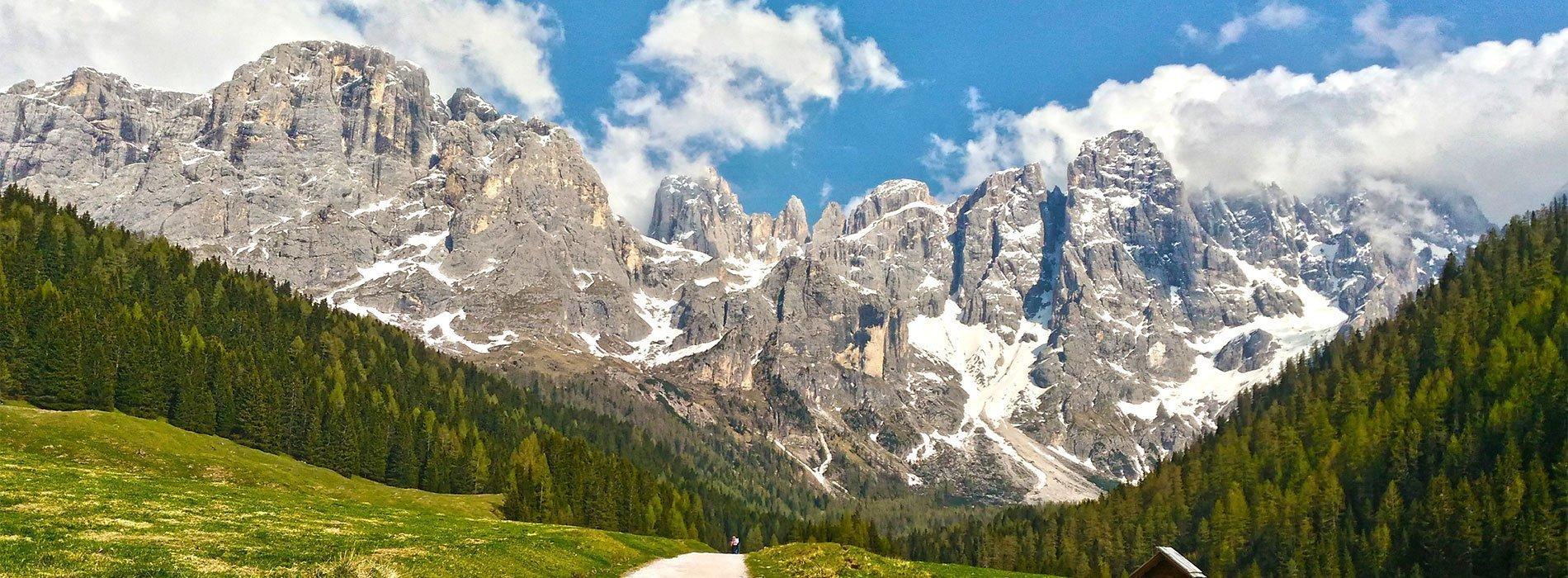Panorama delle Dolomiti